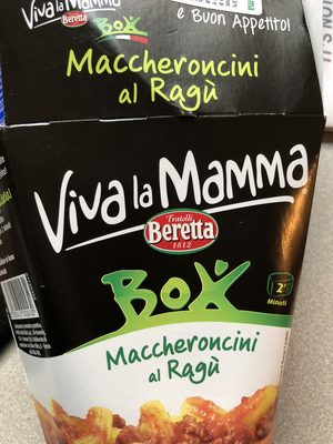 Maccheroncini al Ragu - Produit - en