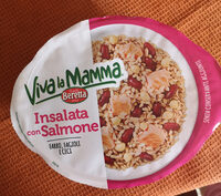 Insalata con salmone - Produkt - it
