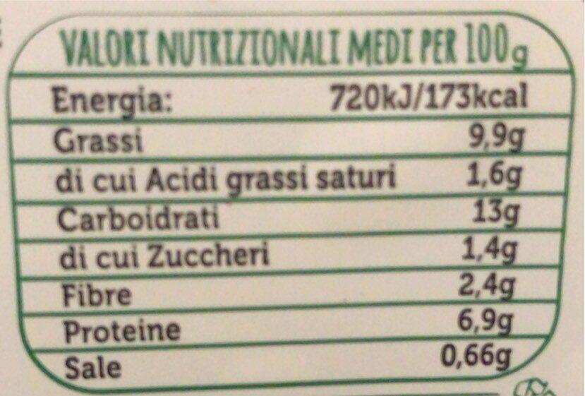 insalata con salmone farro, fagioli e ceci - Nährwertangaben - it