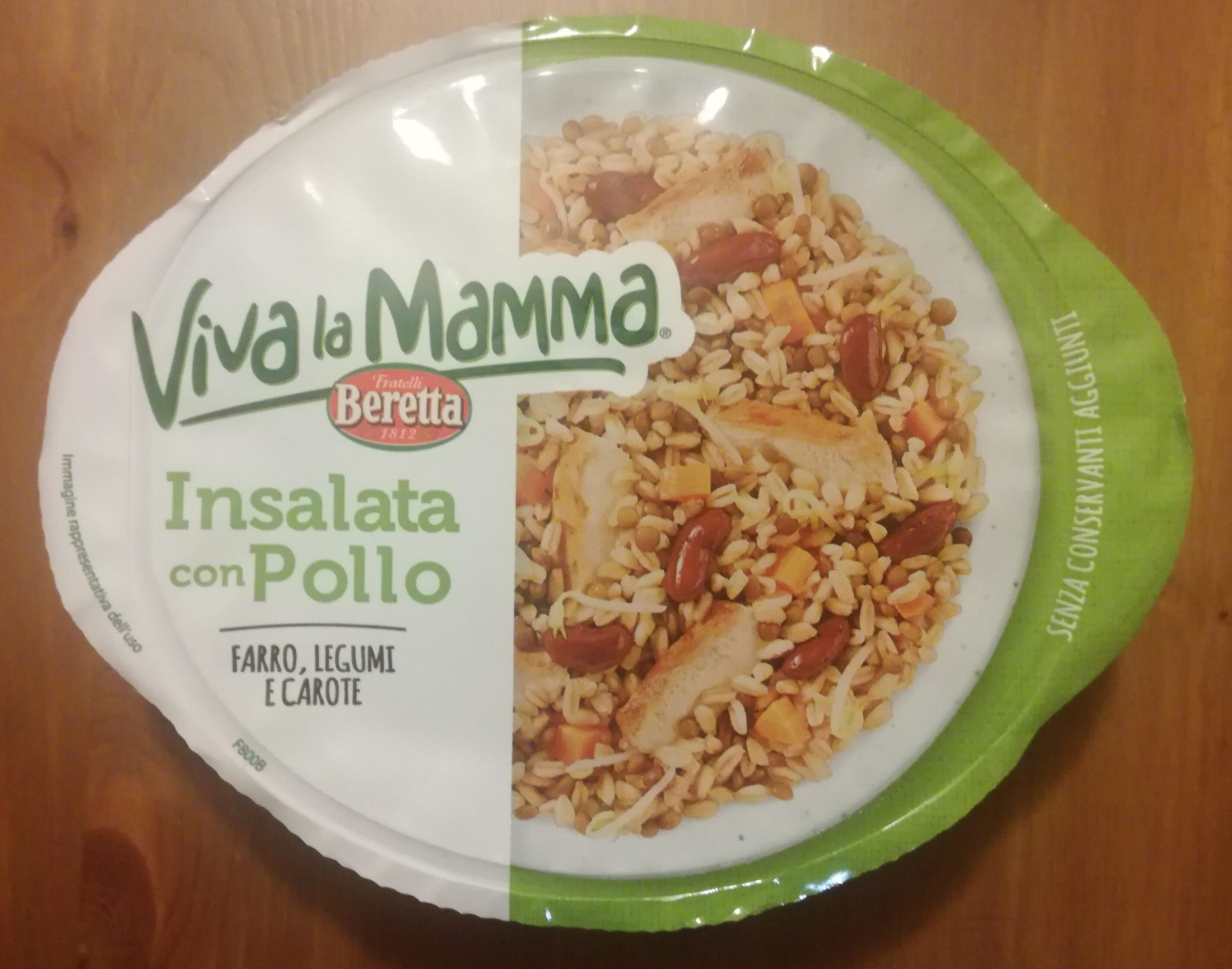 Viva la Mamma - Insalata con Pollo - Produkt - it