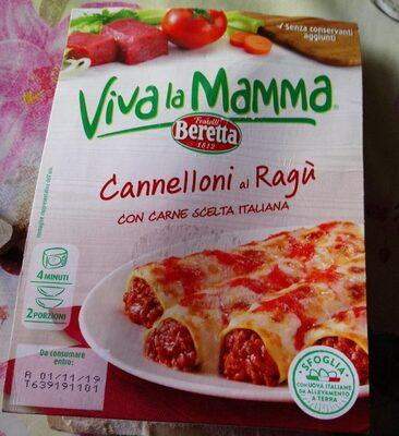 Cannelloni à la bolognaise - Produit - fr