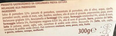 Melanzane alla Parmigiana - Inhaltsstoffe