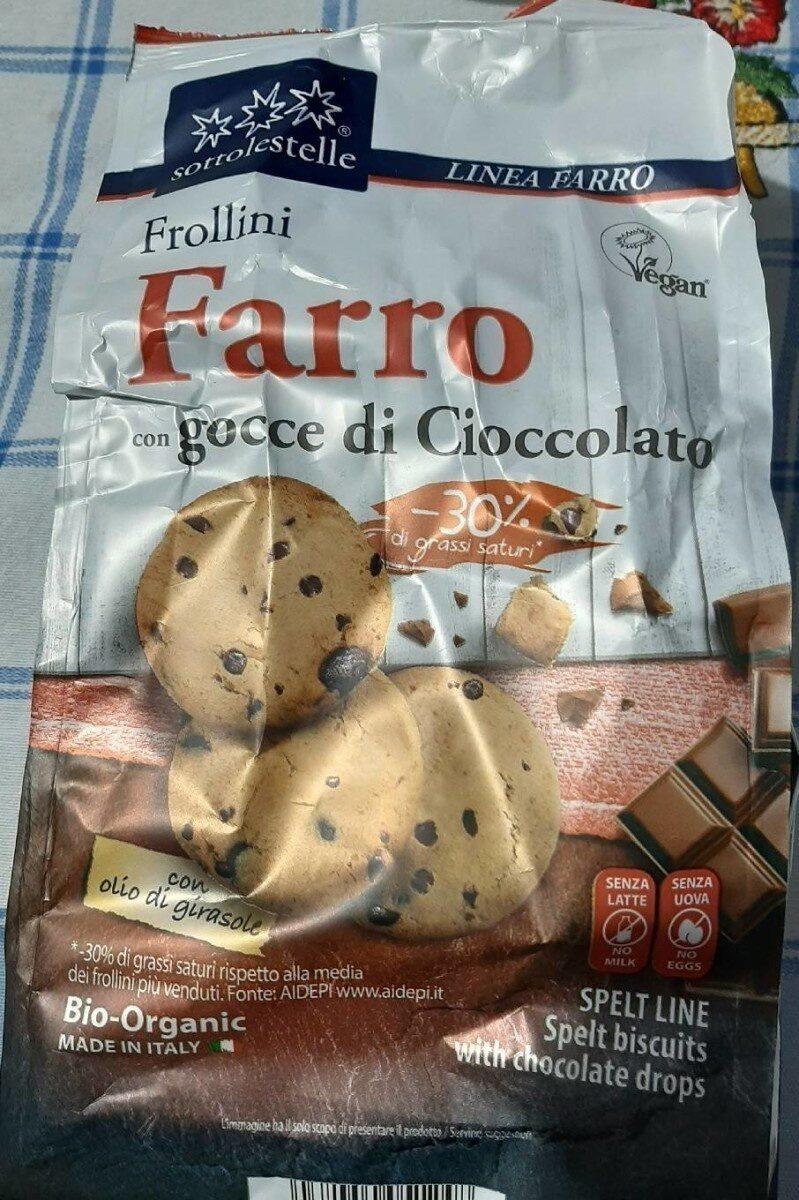 Frollini farro con gocce di cioccolato - Product - es