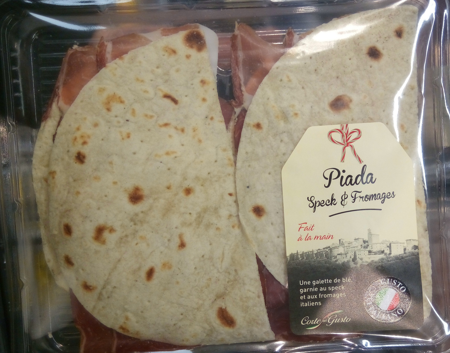 Piada Speck & Fromages - Product - fr
