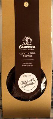 Cantucci al cacao e nocciole - Product - fr