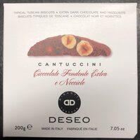 Cantuccini cioccolato e nocciole - Product - fr