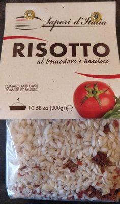 Risotto al pomodoro e basilico - Product - fr