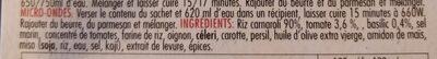 Risotto al pomodoro e basilico - Ingrediënten - fr