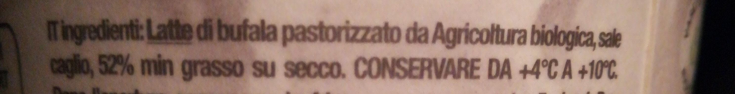 Mozzarella di bufala campana d. O. P - Ingredienti - it