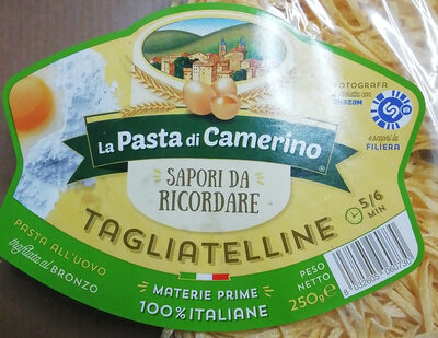 Pasta all'uovo Tagliatelline - Product - it
