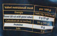 Dark Brown aroma intenso zucchero grezzo di canna - Voedingswaarden - it