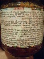 Pesto siciliano - Informations nutritionnelles - fr