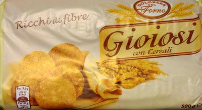 Gioiosi con cereali - Product - it