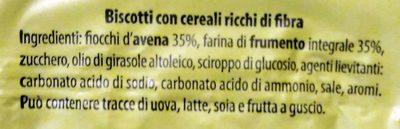 Gioiosi con cereali - Ingredients - it