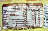 Gioiosi con cereali - Nutrition facts - it