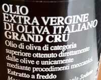 Olio Extravergine di oliva italiano - Ingredients