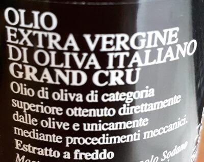 Olio Extravergine di oliva italiano - Ingrediënten