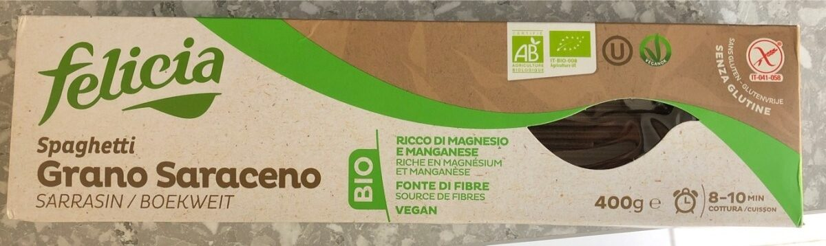 Spaghetti Grano Saraceno - Product - fr