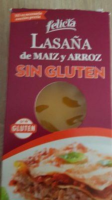 Lasagnes sans gluten - Producte