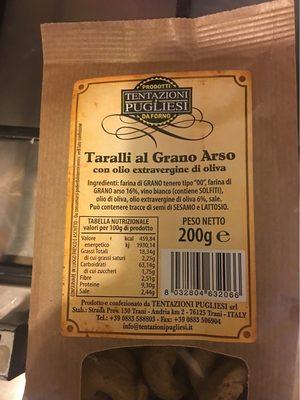 Taralli al grano arso - Product - fr