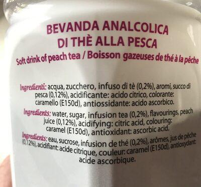 The a la peche - Ingrédients - fr