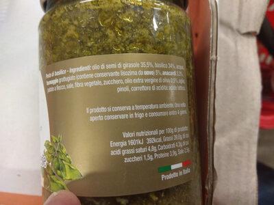 Pesto alla genovese - Ingredients - it