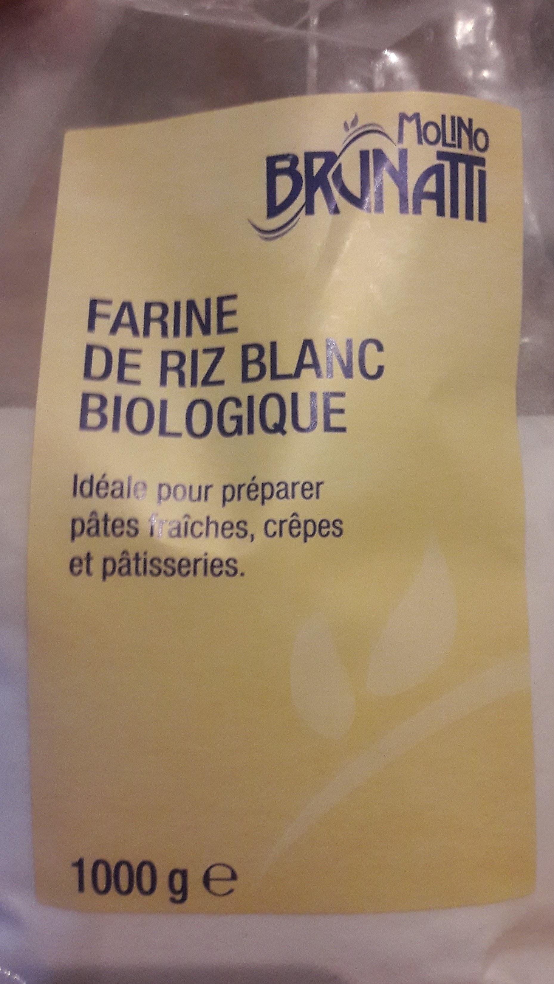 Farine riz blanc biologique - Produit - fr