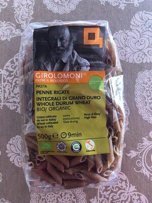 Organic Whole Wheat Penne Rigate Pasta (500G)