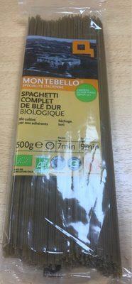 Spaghetti complet de blé dur - Produit