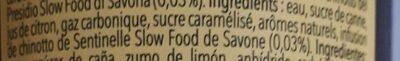 Il Nostro Chinotto - Ingredients - fr