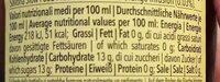 Il Nostro Chinotto - Nutrition facts - fr