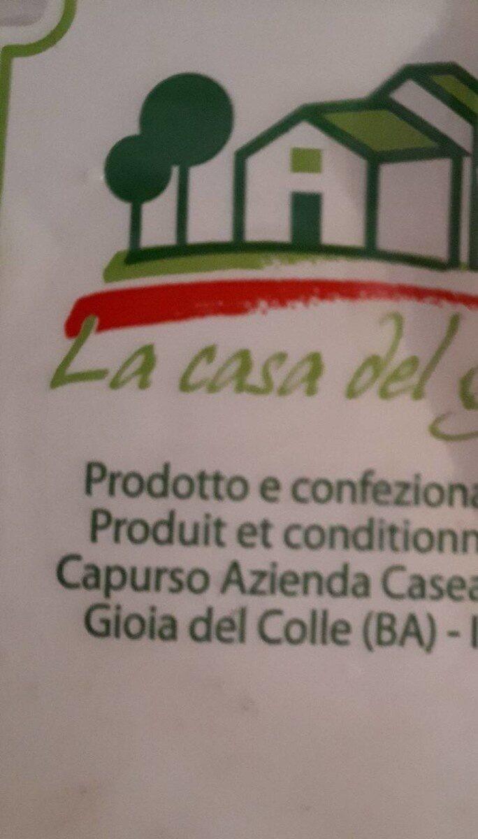Burratina fumé - Product - fr
