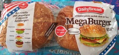 Méga burger - Product