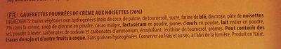 GRISBI - Ingrédients - fr