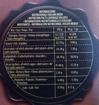 GRISBI - Informations nutritionnelles - en
