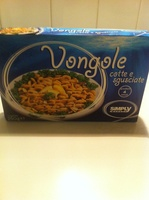 Vongole sgusciate - Product