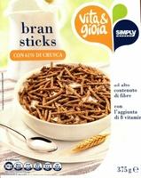 Bran sticks con 61 % di crusca - Prodotto
