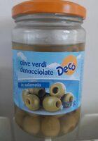 Olive verdi denocciolate - Product - it