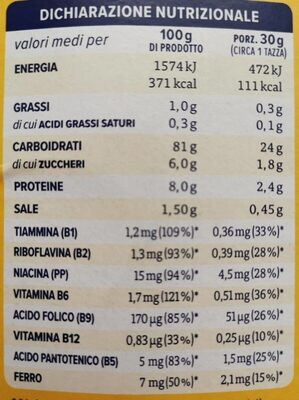 Con Flakes - Nutrition facts - it