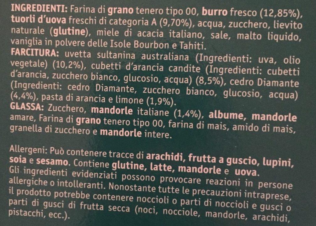 Classico Mandorlato - Ingrediënten - fr