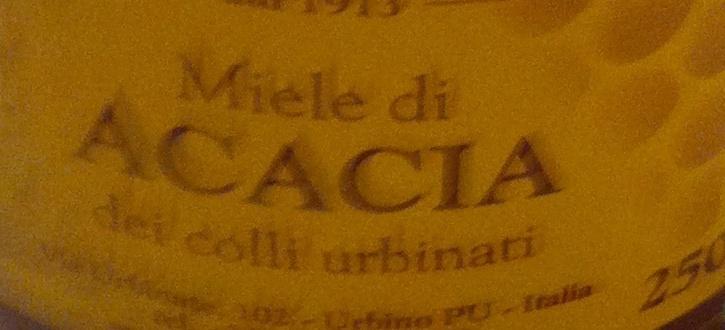 Miele di acacia - Ingrediënten