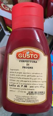 Confettura di Prugne - Produit - fr