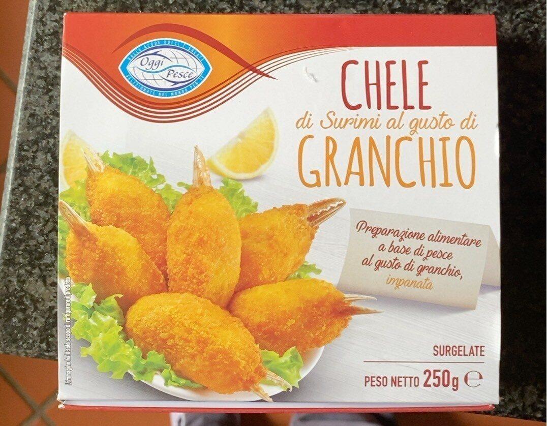 Chele di surimi al gusto di granchio - Prodotto - it