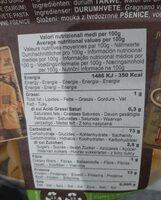 'e Fidanzati Capresi IGP (500g) - Informations nutritionnelles - fr