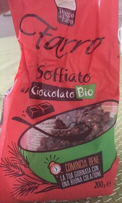 Farro soffiato al cioccolato bio - Produit - fr