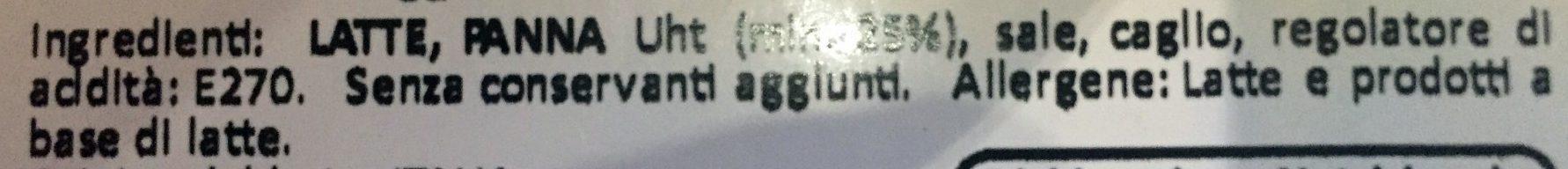 Burrata in Foglia - Ingrediënten