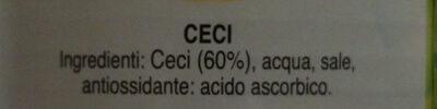 Ceci - Ingredienti - it