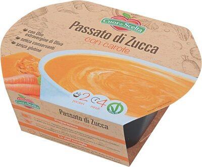 Passato di zucca con carote - Produit - it
