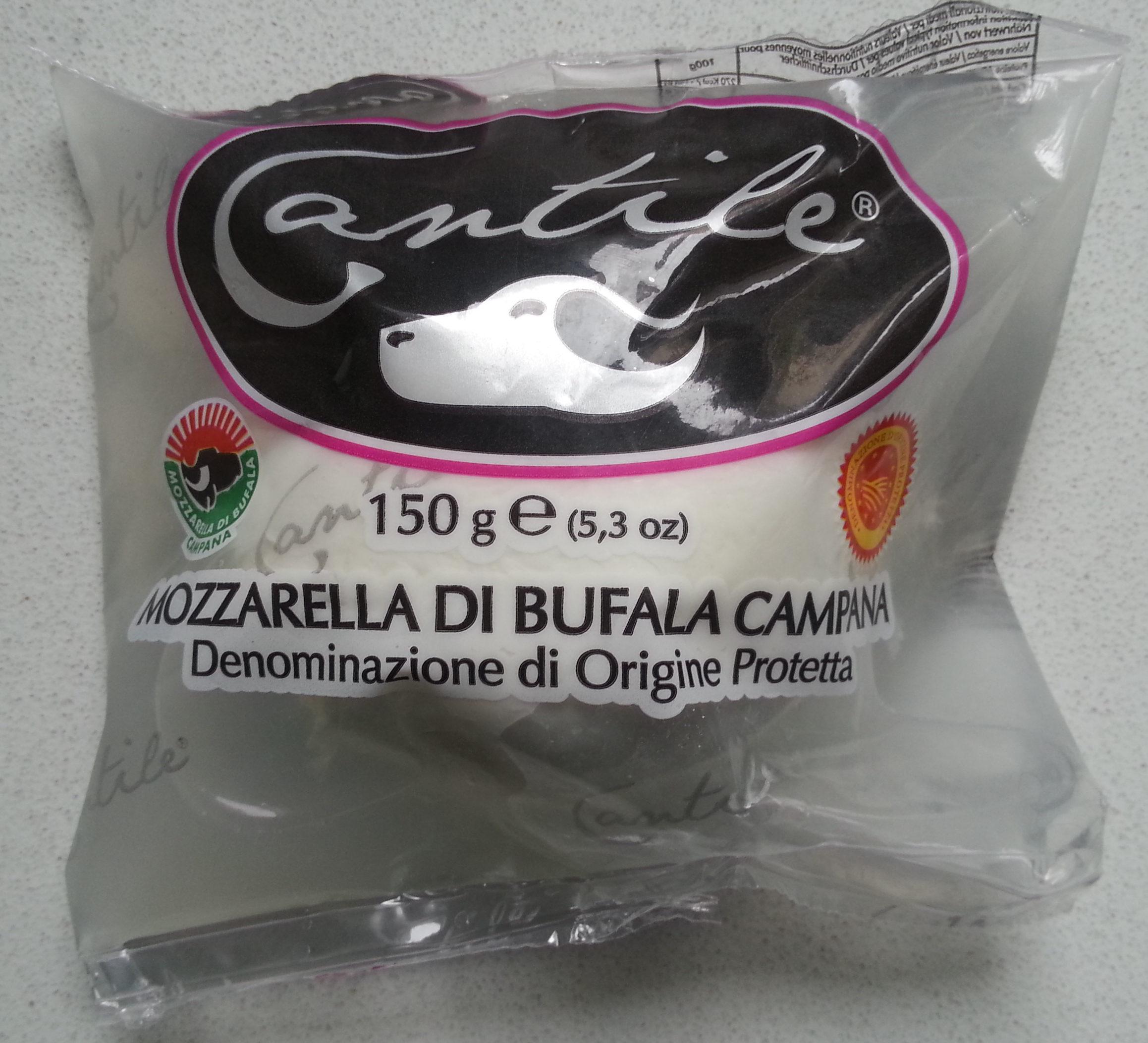 Mozzarella di Bufala Campana AOP - 240 g - Cantile - Product