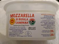 Mozzarella di bufala campana bille - Product - en